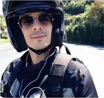 【穿越在路上】法国小伙骑黄龙600 穿行万里走丝路(连载一)